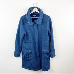 Patagonia Womens Better Sweater Coat Blue